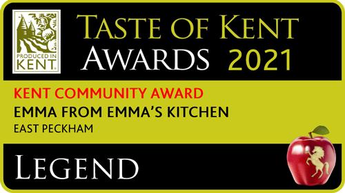 Emma's Kitchen Taste of Kent Award